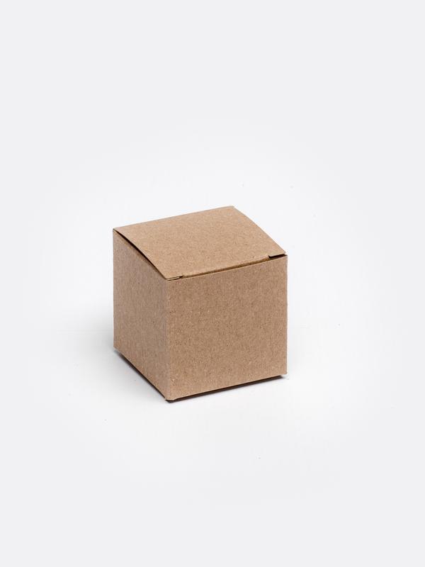 Kraft kubus in karton om zelf te vullen