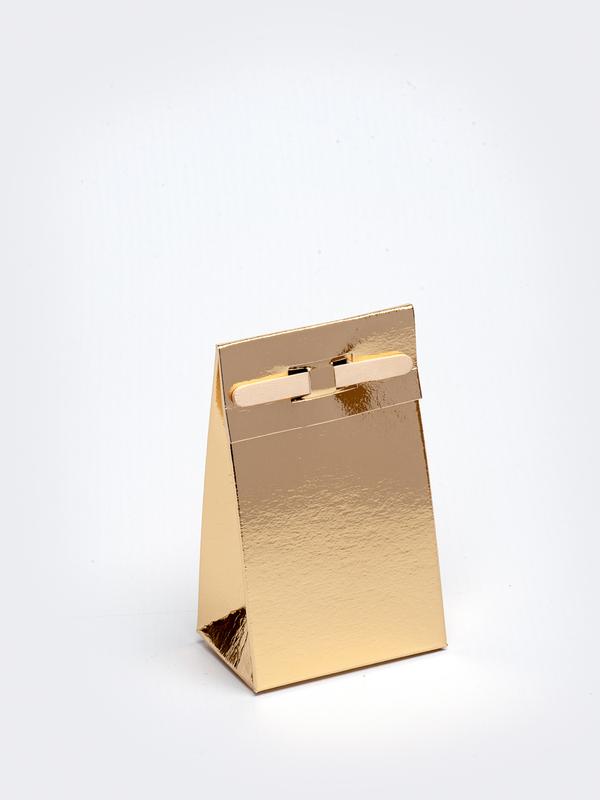 Gouden tasje met stokje om zelf te vullen