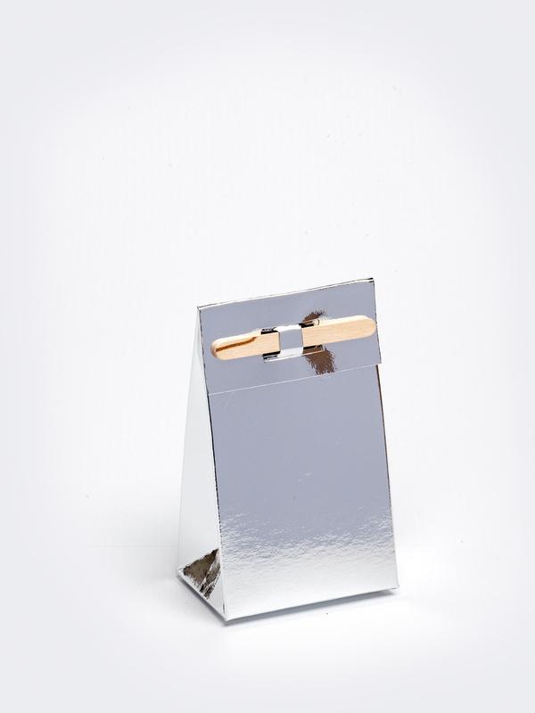 Zilver tasje met stokje om zelf te vullen