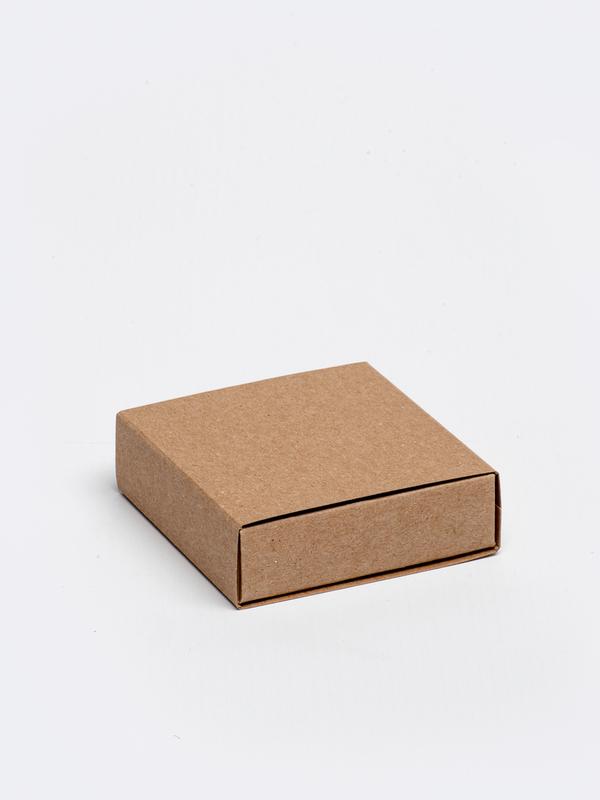 Kraft vierkante doos in karton om zelf te vullen